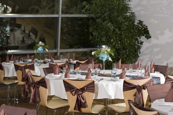 Blogeintrag zur dekoration von deko calla for Hochzeitsdeko braun