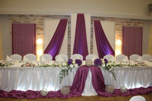 Dekorationen hochzeitsdekorationen von deko calla in for Brauttisch deko